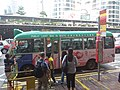 HK 中環 Central 干諾道中 Connaught Road August 2018 SSG minibus stop n queue 02.jpg