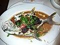 HK SYP 西營盤 Sai Ying Pun 鴻興茶餐廳 Hung Hing Restaurant dinner steamed fish August 2019 SSG 01.jpg