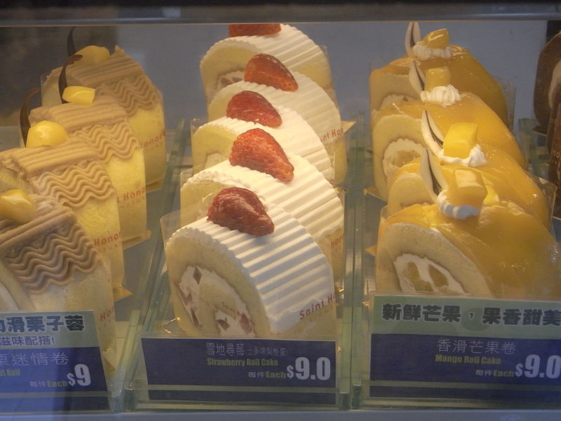 File:HK Sheung Wan 聖安娜餅屋 Sait Honore Cake Shop fruit roll cakes.jpg
