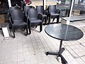 HK TKL 調景嶺 Tiu Keng Leng HKDI 香港知專設計學院 Hong Kong Design Institute Dec 2018 SSG resturant table n armchairs.jpg