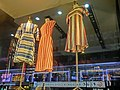 HK TST Canton Road night 杜嘉班納 Dolce & Gabbana shop female clothing Dresses April 2013.JPG