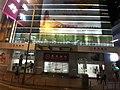 HK Tram 129 view 灣仔 Wan Chai 金鐘 Admiralty 中環 Des Voeux Road Central HSBC SCBank 上環 Sheung Wan night November 2019 SS2 09.jpg