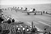 HMS Ark Royal planes