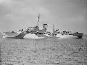 HMS Jonquil (K68) - Image: HMS Jonquil (K68) IWM FL 22394