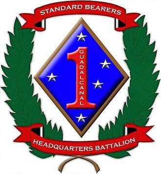 Ground combat element - Image: HQBN 1st Marine Division