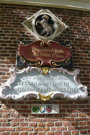 Jacobus Zaffius - Image: Haarlem Frans Loenenhofje donors