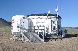 Mars habitat - Habitat Demonstration Unit of the Desert Research and Technology Studies