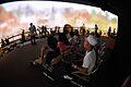 Hacking Space Participants Watch Panorama on Human Evolution - Science Exploration Hall - Science City - Kolkata 2016-03-29 2960.JPG