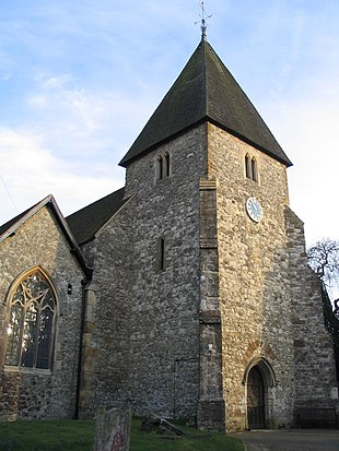 """<a href=""""http://search.lycos.com/web/?_z=0&q=%22St.%20Mary%27s%20Church%2C%20Hadlow%22"""">St. Mary's Church</a>"""