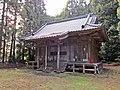 Haiden of Afuku Kahaku-jinja shrine.JPG