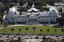 Haiti-Contemporary history-Haitian national palace earthquake