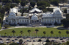 Haitian national palace earthquake.jpg