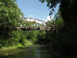 Half Chance Iron Bridge - Image: Half chance bridge