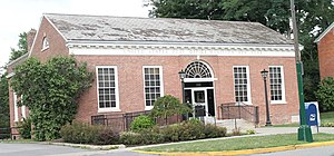 United States Post Office (Hamilton, New York) - Image: Hamilton NY Post Office