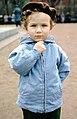 Hammond Slides Child in a Blue Jacket.jpg