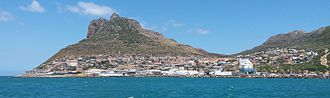 Hout Bay - The settlement of Hangberg, above Hout Bay Harbour