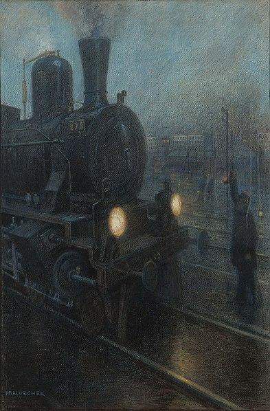 File:Hans Baluschek - Die Eisenbahn No. 6 (1898).jpg