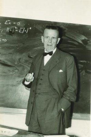 Harald Cramér - Cramér at the Mathematical Research Institute of Oberwolfach