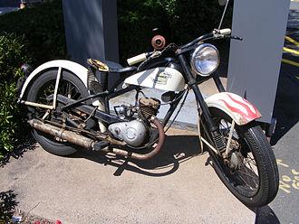Harley-Davidson Hummer - Unrestored Harley-Davidson Hummer