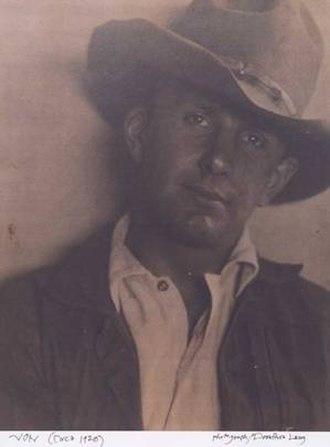 Harold von Schmidt - Harold von Schmidt in 1920