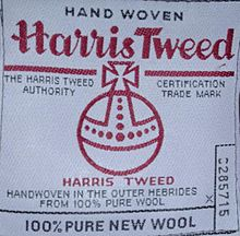 c2a4eb1d780 Harris Tweed Authority - Wikipedia