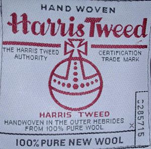 Tweed (cloth) - Image: Harris Tweed 1