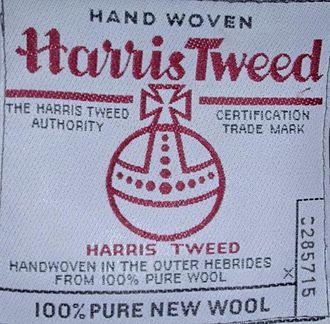 Tweed (cloth) - Image: Harris Tweed 1