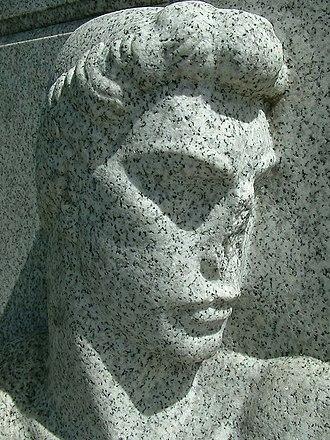 Harvey S. Firestone Memorial - Vandalism