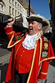 Have bell will travel. Peter Moore, Town Crier to the Mayor of London and the Greater London Authority … promotions, parades, openings etc. (1388747790).jpg