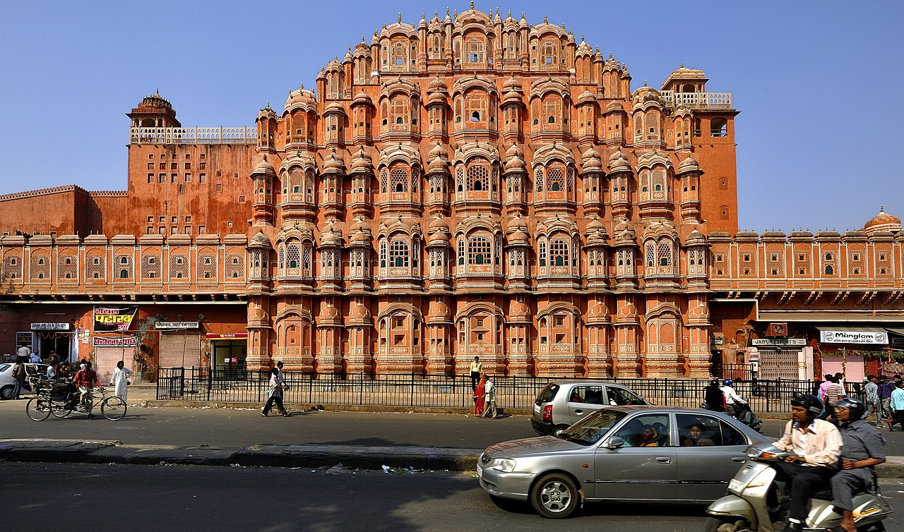 Hawa Mahal Hd Images: Wikimedia Commons