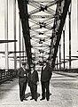 Hay, Bradfield and Cormack on the Sydney Harbour Bridge (5082075303).jpg