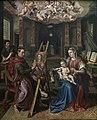 Heilige Lucas schildert de Madonna, Maerten de Vos, 1602, Koninklijk Museum voor Schone Kunsten Antwerpen, 88.jpg