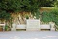 Heiligenstadt (Wien) - Heiligenstädter Park, Gründungsstein.JPG