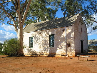 Hermannsburg, Northern Territory - Hermannsburg Lutheran church