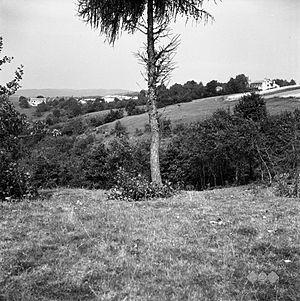 Gabrk, Ilirska Bistrica - Gabrk in 1955