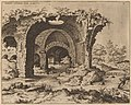 Hieronymus Cock, View of Unidentified Ruins, probably 1550, NGA 91353.jpg