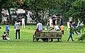 Highgate Cricket Club Development Day Camp from North London CC ground 1 (cropped).jpg
