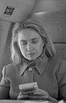 Hillary Rodham Clinton on plane using Game Boy (15).jpg