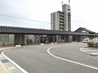 Himi Station Railway station in Himi, Toyama Prefecture, Japan