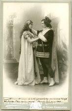Hin ondes snaror, Svenska teatern 1900. Rollporträtt - SMV - H7 135.tif