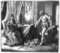 Hipparchia and Crates - Proefsteen van de Trou-ringh - 1645 version.png