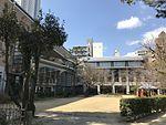 Hiroshima Prefectural Art Museum from Shukkei Garden.jpg