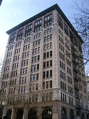 Benjamin Wistar Morris (architect) - Morris designed the Wells Fargo Building, the first skyscraper in Portland, Oregon