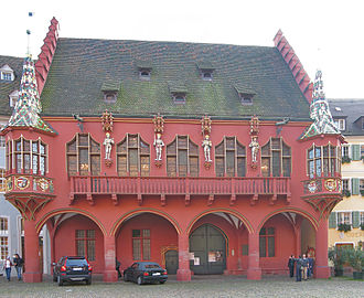 Freiburg im Breisgau - The Historical Merchants' Hall of 1520-21