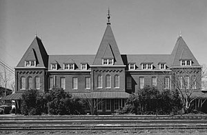 Holly Springs, Mississippi - Holly Springs railroad depot.