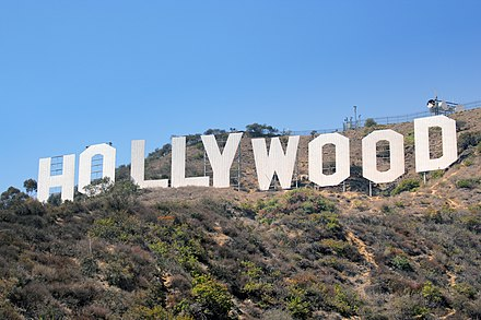 The Hollywood Sign in Los Angeles, California HollywoodSign.jpg