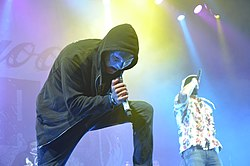 Hollywood Undead bei Rock am Ring 2015.