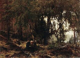 Metsä sadeilmalla