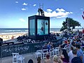 Holoscenes performs in the Surfers Paradise, Queensland during 2018 Commonwealth Games, 01.jpg