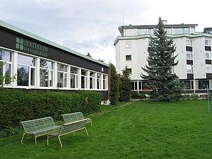 Strand, Akershus - The folk high school.